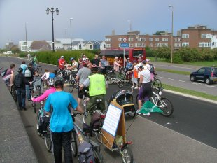 Pedal the Prom - NO CYCLING